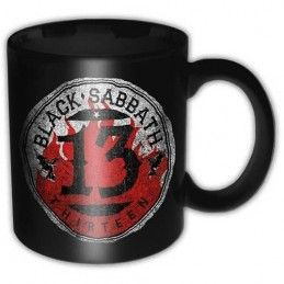 BLACK SABBATH THIRTEEN MUG TAZZA CERAMICA