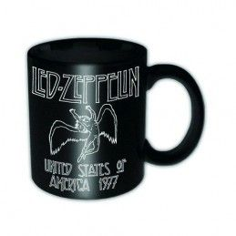 LED ZEPPELIN USA 1977 TOUR MUG TAZZA CERAMICA