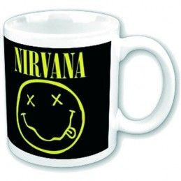 NIRVANA SMILEY MUG TAZZA CERAMICA