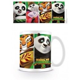 PYRAMID INTERNATIONAL KUNG FU PANDA 3 CERAMIC MUG TAZZA IN CERAMICA
