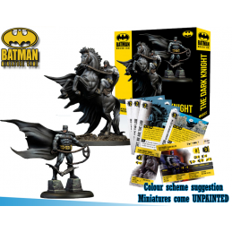 BATMAN MINIATURE GAME - THE DARK KNIGHT RETURNS (FRANK MILLER) MINI RESIN STATUE FIGURE KNIGHT MODELS