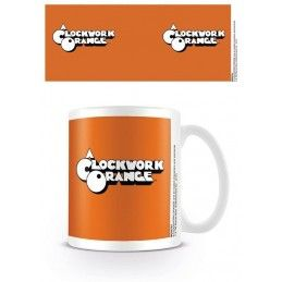 PYRAMID INTERNATIONAL ARANCIA MECCANICA CLOCKWORK ORANGE LOGO CERAMIC MUG TAZZA IN CERAMICA