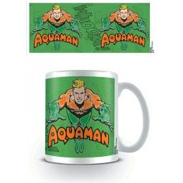 PYRAMID INTERNATIONAL AQUAMAN CLASSIC COMIC CERAMIC MUG TAZZA IN CERAMICA