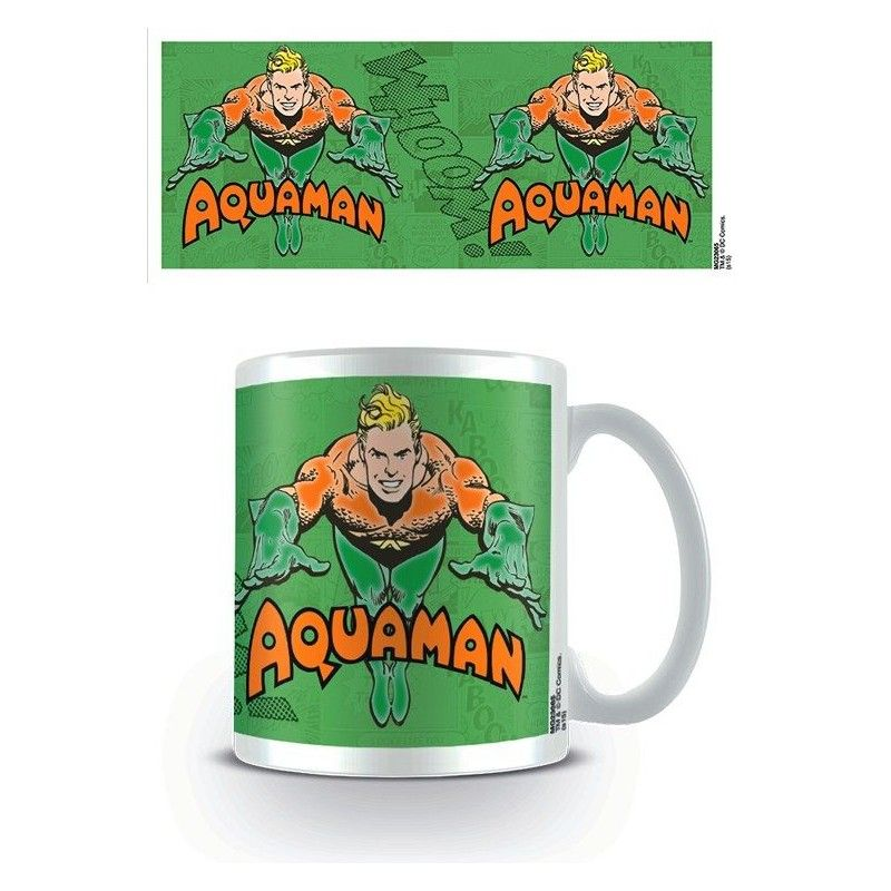 AQUAMAN CLASSIC COMIC CERAMIC MUG TAZZA IN CERAMICA PYRAMID INTERNATIONAL