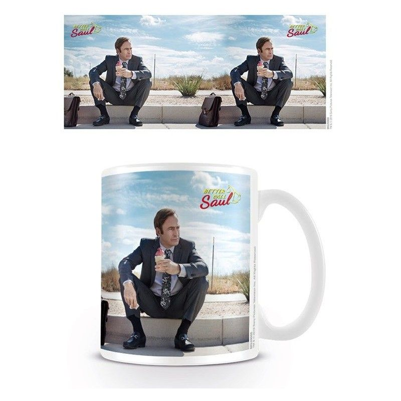 PYRAMID INTERNATIONAL BETTER CALL SAUL CERAMIC MUG TAZZA IN CERAMICA