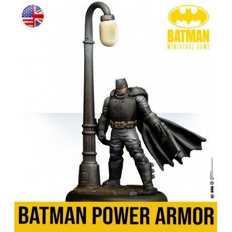 BATMAN MINIATURE GAME - BATMAN POWER ARMOR MINI RESIN STATUE FIGURE