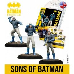 KNIGHT MODELS BATMAN MINIATURE GAME - SONS OF BATMAN MINI RESIN STATUE FIGURE