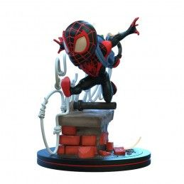 MARVEL Q-FIG DIORAMA SPIDER-MAN MILES MORALES 10 CM FIGURE QUANTUM MECHANIX