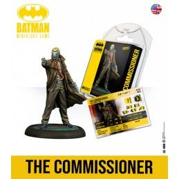 BATMAN MINIATURE GAME - THE COMMISSIONER MINI RESIN STATUE FIGURE KNIGHT MODELS