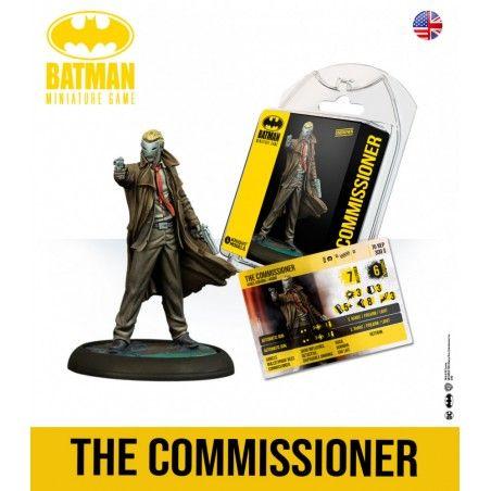 BATMAN MINIATURE GAME - THE COMMISSIONER MINI RESIN STATUE FIGURE