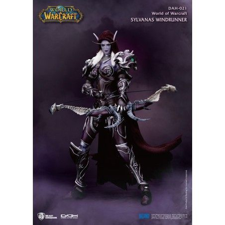WORLD OF WARCRAFT - SYLVANAS WINDRUNNER DAH-021 ACTION FIGURE