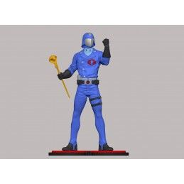 G.I. JOE - COBRA COMMANDER 1/8 22CM STATUE FIGURE PCS COLLECTIBLES