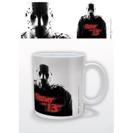 FRIDAY THE 13TH VENERDI 13 CERAMIC MUG TAZZA IN CERAMICA