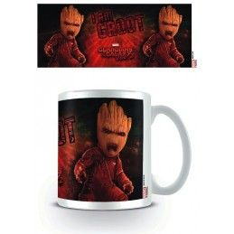 MARVEL GUARDIANS OF THE GALAXY 2 I AM GROOT CERAMIC MUG TAZZA IN CERAMICA PYRAMID INTERNATIONAL