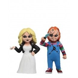 TOONY TERRORS CHUCKY AND TIFFANY ACTION FIGURE NECA