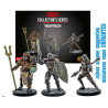 GF9-BATTLEFRONT DUNGEONS AND DRAGONS - EBERRON WARFORGED MONK, CLERIC AND FIGHTER SET MINI FIGURE
