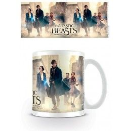 FANTASTIC BEAST ANIMALI FANTASTICI GROUP MUG TAZZA IN CERAMICA