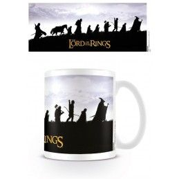 THE LORD OF THE RINGS IL SIGNORE DEGLI ANELLI MUG TAZZA IN CERAMICA