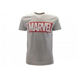 copy of MAGLIA T SHIRT MARVEL LOGO ROSSA