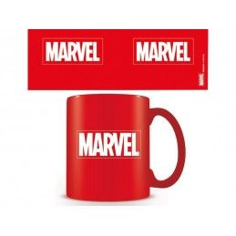 MARVEL LOGO ROSSO CERAMIC MUG TAZZA IN CERAMICA PYRAMID INTERNATIONAL