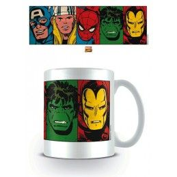 PYRAMID INTERNATIONAL MARVEL AVENGERS CLASSIC COMICS CERAMIC MUG TAZZA IN CERAMICA