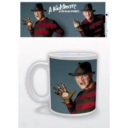 A NIGHTMARE ON ELM STREET FREDDY KRUEGER TAZZA IN CERAMICA