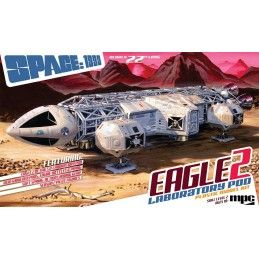 MPC SPACE SPAZIO 1999 - EAGLE 2 LABORATORY POD 1/48 50CM MODEL KIT FIGURE