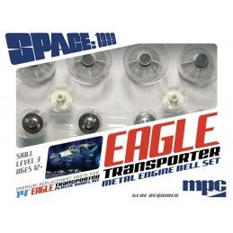 SPACE SPAZIO 1999 - EAGLE METAL ENGINE BELL SET KIT FIGURE MPC