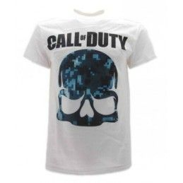 MAGLIA T SHIRT CALL OF DUTY ADVANCE WARFARE BLACK OPS I BIANCA