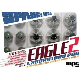 MPC SPACE SPAZIO 1999 - EAGLE 2 LABORATORY POD SUPPLEMENT METAL PARTS MODEL KIT FIGURE