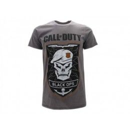 MAGLIA T SHIRT CALL OF DUTY ADVANCE WARFARE BLACK OPS I GRIGIA