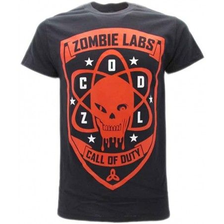 MAGLIA T SHIRT CALL OF DUTY ADVANCE WARFARE BLACK OPS I NERA