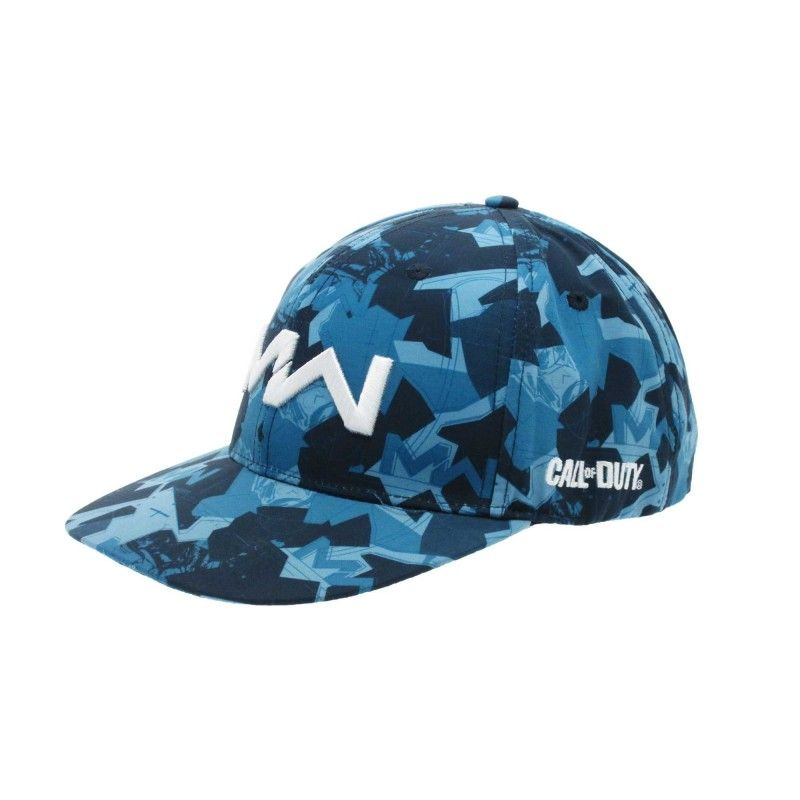 CAPPELLO BASEBALL CAP CALL OF DUTY MODERN WARFARE BLU CAMO