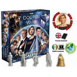 DOCTOR WHO TIME OF THE DALEKS NEW EDITION - GIOCO DA TAVOLO GALE FORCE NINE