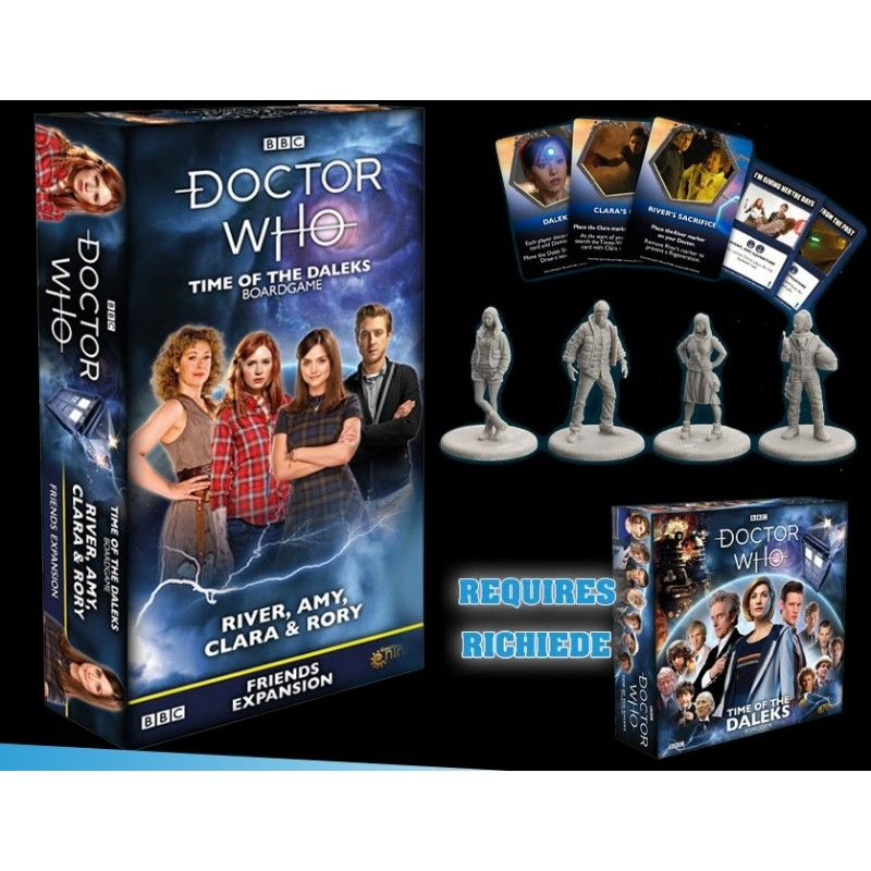 GALE FORCE NINE DOCTOR WHO TIME OF THE DALEKS FRIENDS EXPANSION - GIOCO DA TAVOLO