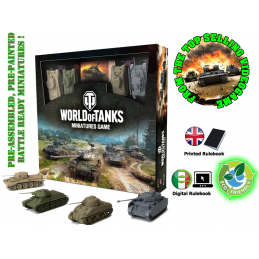 GF9-BATTLEFRONT WORLD OF TANKS STARTER SET - GIOCO DA TAVOLO