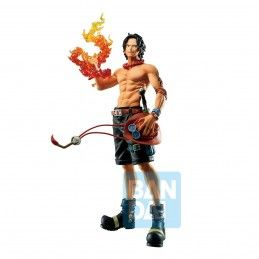 BANDAI ONE PIECE ICHIBANSHO - PORTGAS D. ACE (TREASURE CRUISE) 20CM PVC STATUE FIGURE