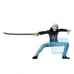 BANDAI ONE PIECE ICHIBANSHO - TRAFALGAR LAW (TREASURE CRUISE) 14CM PVC STATUE FIGURE