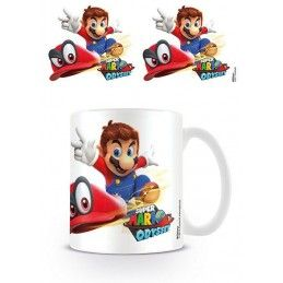 PYRAMID INTERNATIONAL NINTENDO SUPER MARIO ODYSSEY CAP MUG TAZZA IN CERAMICA