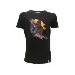 MAGLIA T SHIRT FORTNITE BLACK KNIGHT NERA