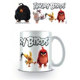 ANGRY BIRDS CERAMIC MUG TAZZA IN CERAMICA PYRAMID INTERNATIONAL