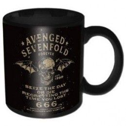 PYRAMID INTERNATIONAL AVENGED SEVENFOLD CERAMIC MUG TAZZA IN CERAMICA