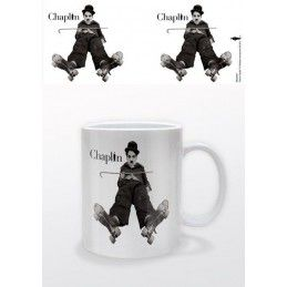 PYRAMID INTERNATIONAL CHARLIE CHAPLIN CERAMIC MUG TAZZA IN CERAMICA