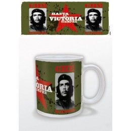 PYRAMID INTERNATIONAL CHE GUEVARA HASTA LA VICTORIA SIEMPRE CERAMIC MUG TAZZA IN CERAMICA