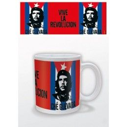 PYRAMID INTERNATIONAL CHE GUEVARA VIVE LA REVOLUCION CERAMIC MUG TAZZA IN CERAMICA