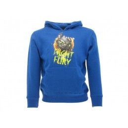 FELPA HOODIE DRAGON TRAINER NIGHT FURY FURIA BUIA BLU