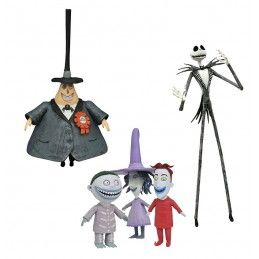 NIGHTMARE BEFORE CHRISTMAS BEST OF SERIES 1 SET ACTION FIGURE DIAMOND SELECT