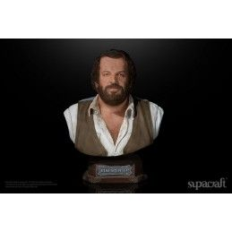 BUD SPENCER 1971 BUSTO STATUE 20 CM 1/4 RESIN FIGURE SUPACRAFT