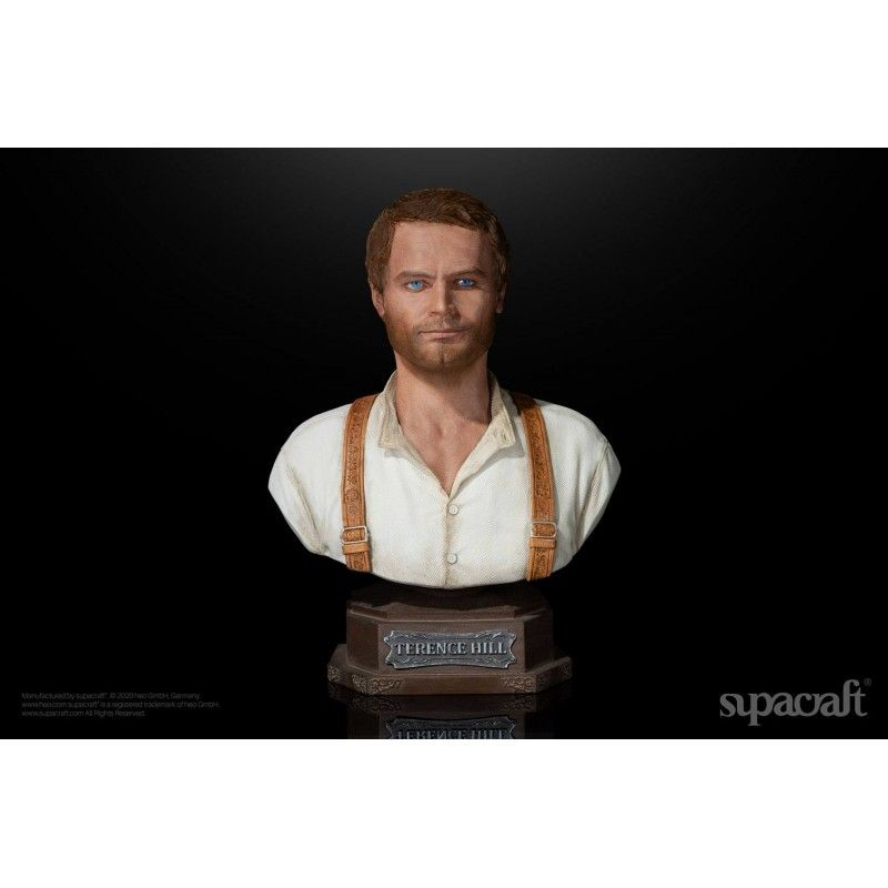 TERENCE HILL 1971 BUSTO STATUE 20 CM 1/4 RESIN FIGURE SUPACRAFT