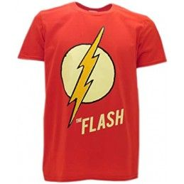 MAGLIA T SHIRT THE FLASH DC COMICS
